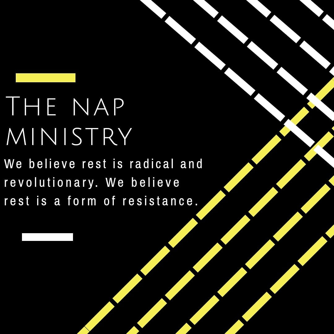 The Nap Ministry Promo Image Rest is Radical