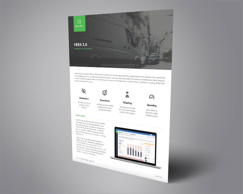 Cover of the VERA 3.0 data sheet