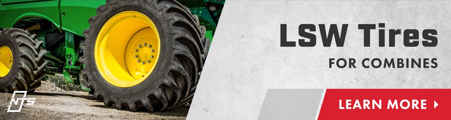 Learn more about LSW tires for combines