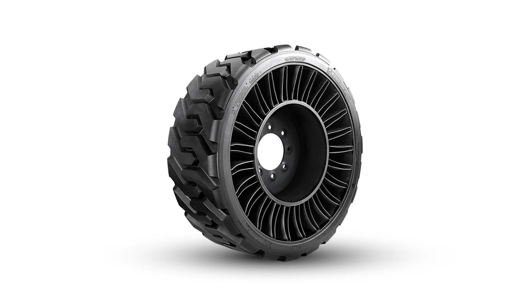 Michelin Tweel airless skid steer tire