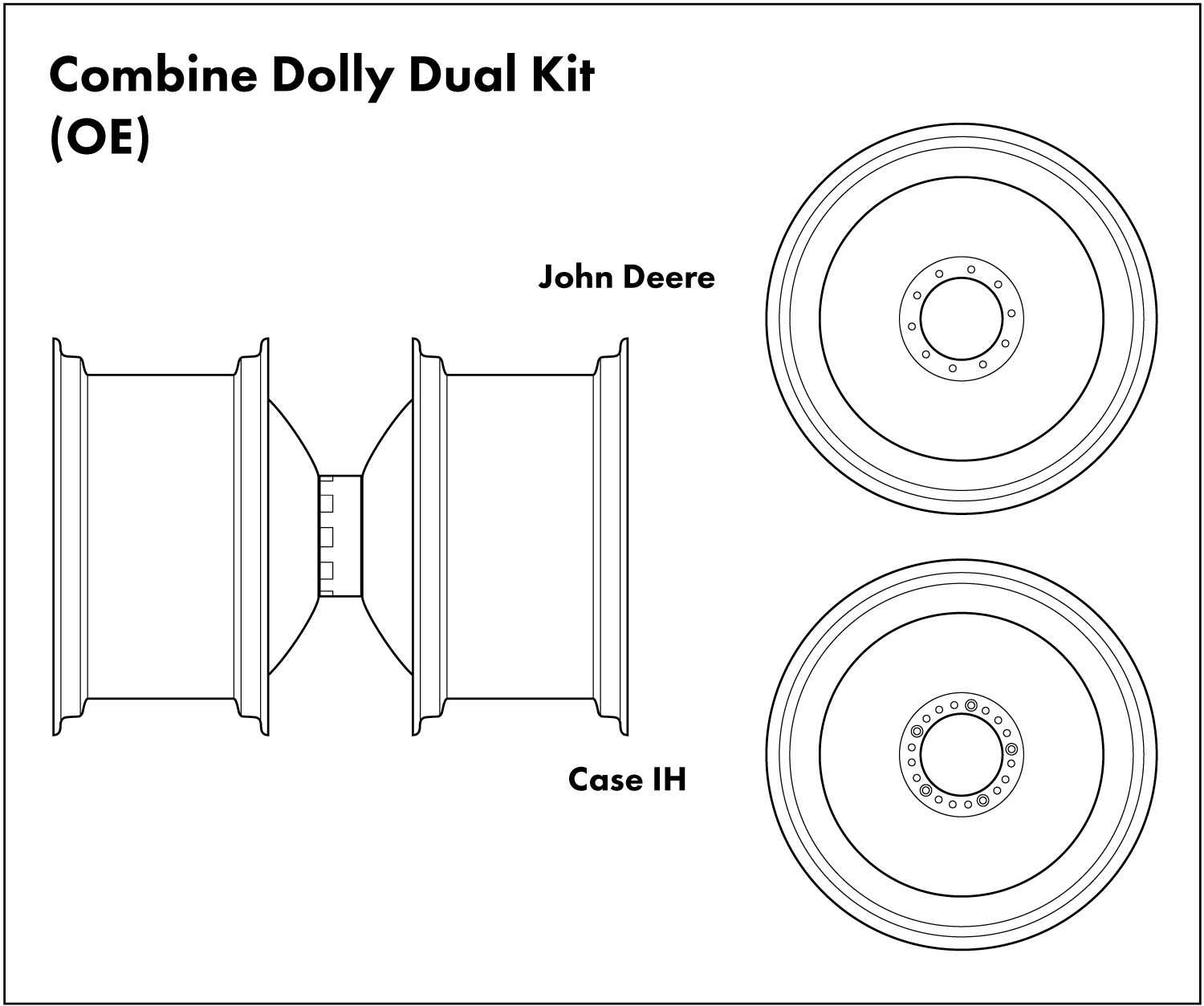 Combine Dolly Duals Diagram