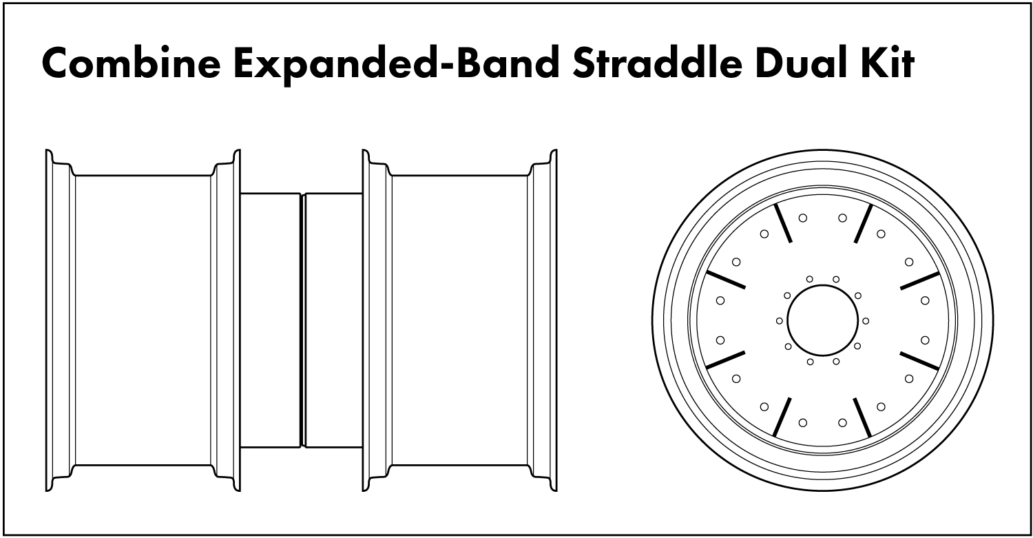 Combine Expanded-Band Straddle Dual Diagram