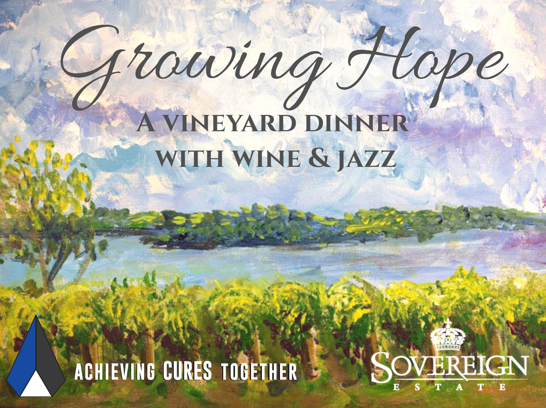 Growing Hope: A Vineyard Dinner with Wine & Jazz