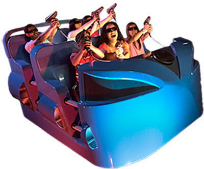 Dark Ride System Attraction