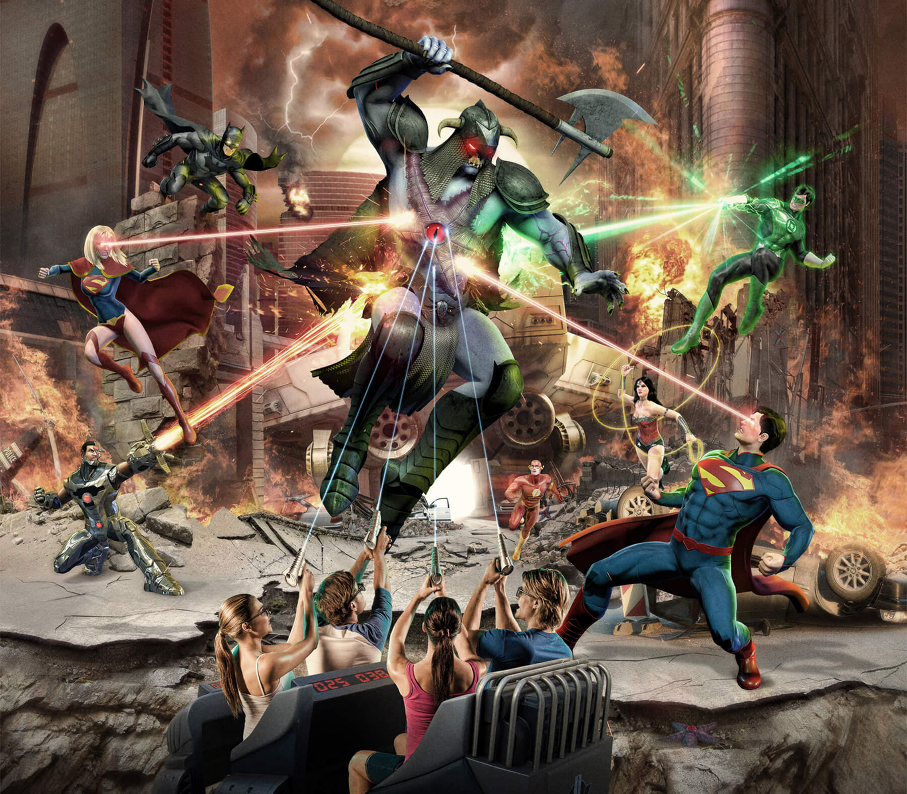 JUSTICE LEAGUE: Alien Invasion