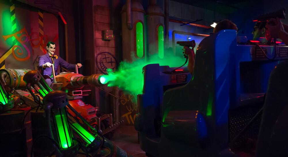 Joker gases the League