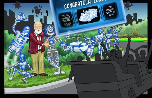 Scene 11 - Congratulations Scoreboard