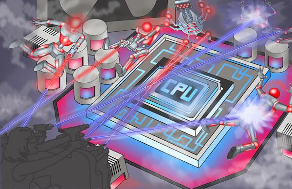 Scene 9 - Central Computer Core