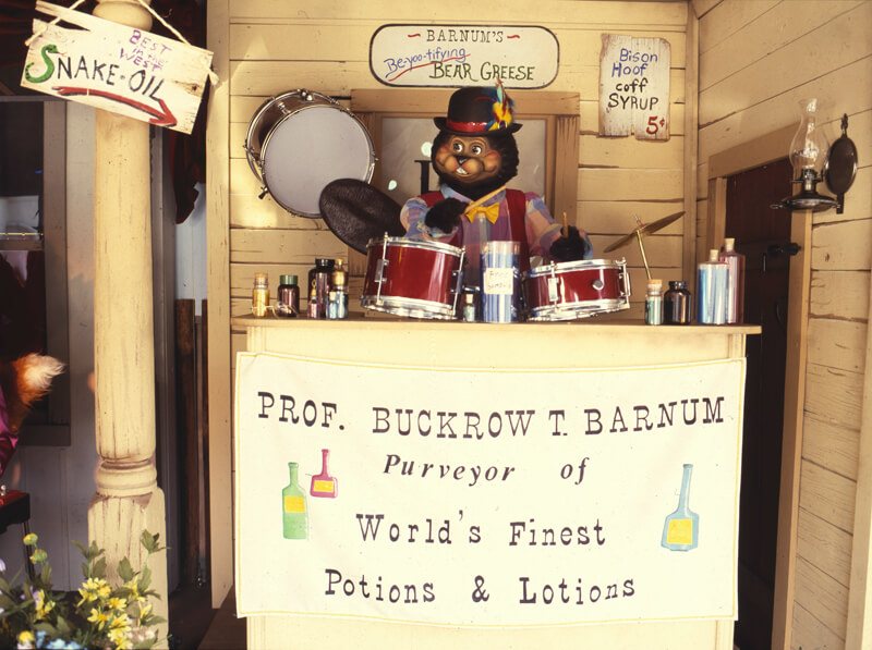 Prof. Buckrow Barnum