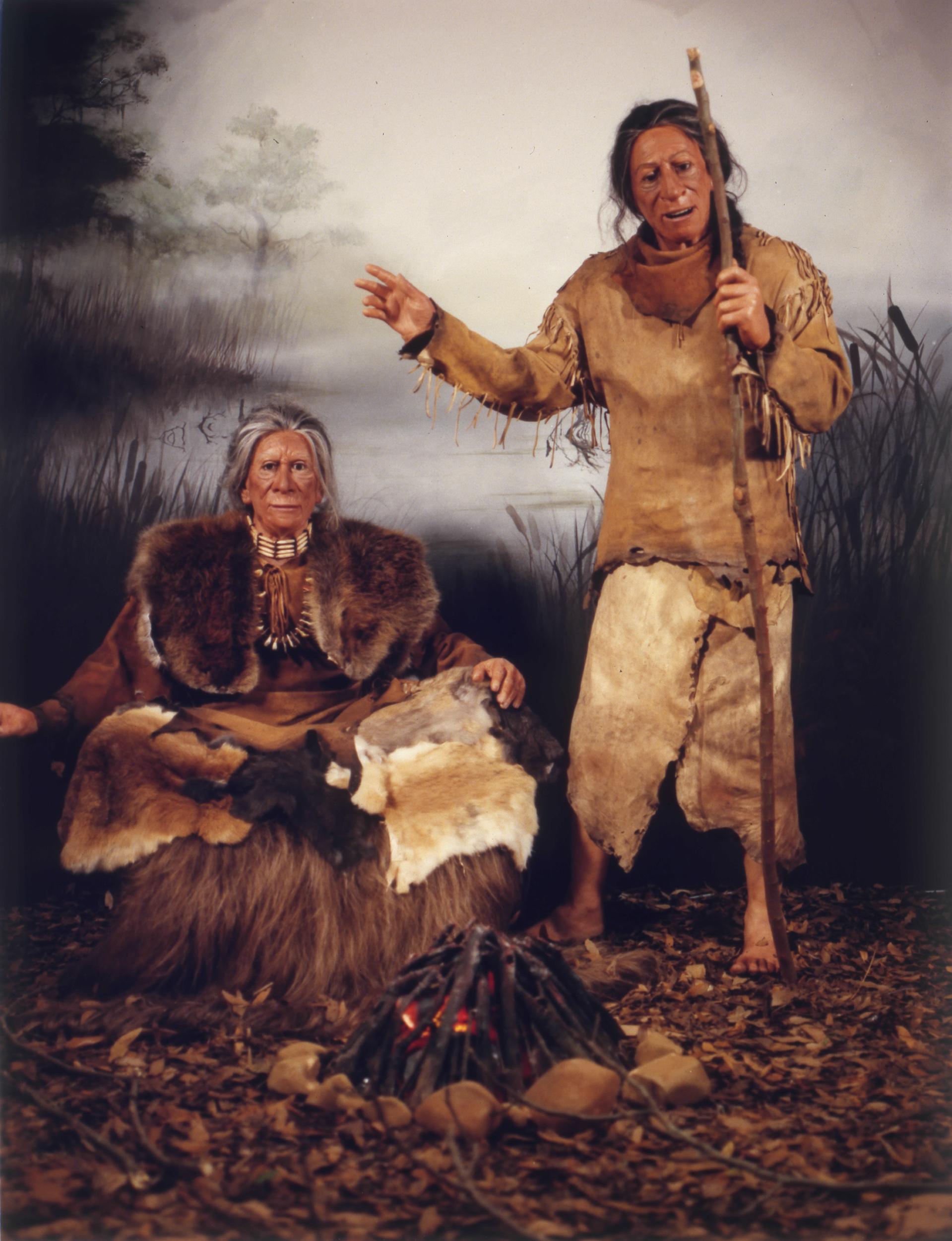 Adena Mound Indians
