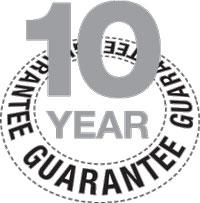 RoofLITE 10 Year Guarantee