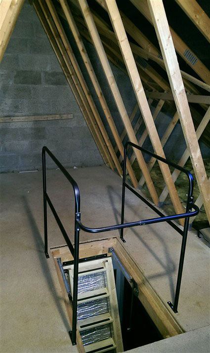 Metal Loft Surround Rail