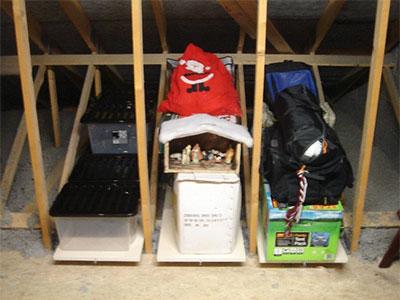 Stowaway Loft Storage Trays
