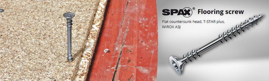 SPAX Flooring Screws