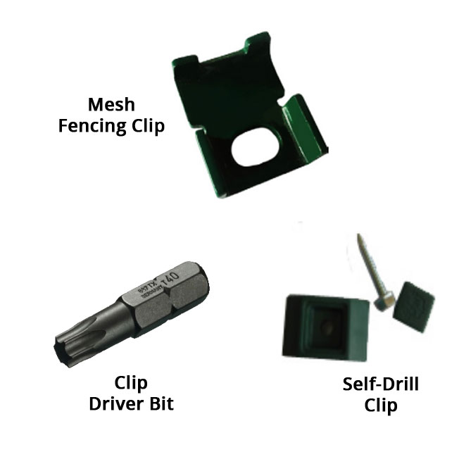 Mesh Panel Installation Accessories