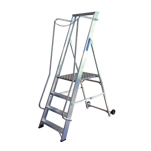 Widestep Aluminium Ladder