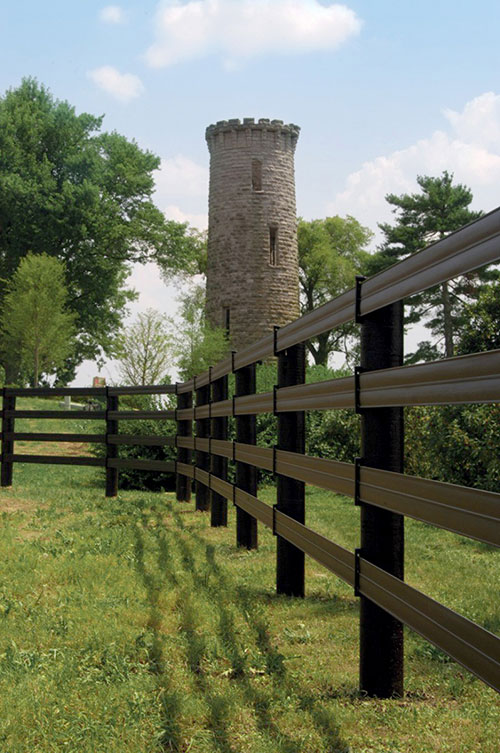 CenFlex Flexible Rail Fence by Centaur