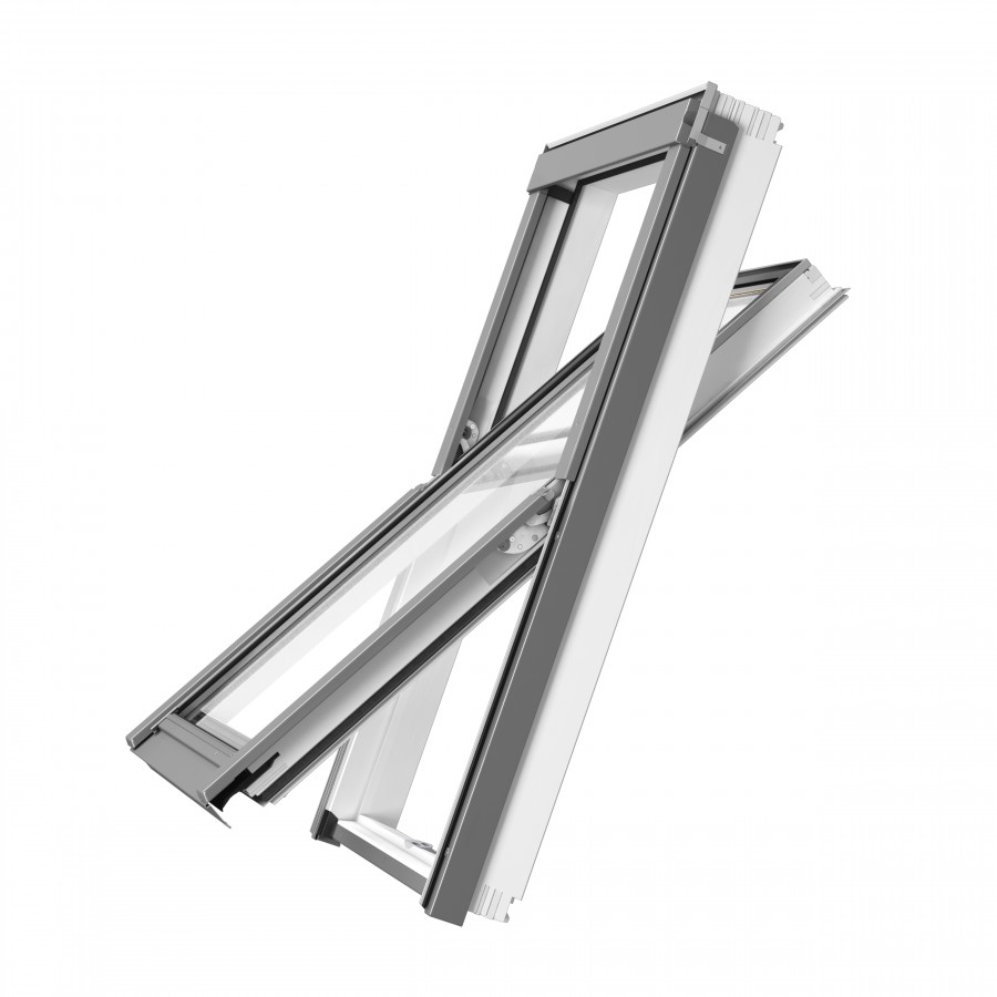 RoofLITE+ Solid Vent White