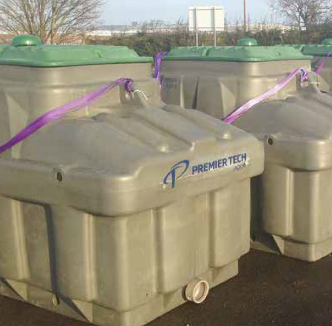Ecoflow Coco Filter Sewage Treatment Plant