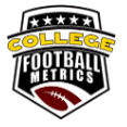college football metrics logo