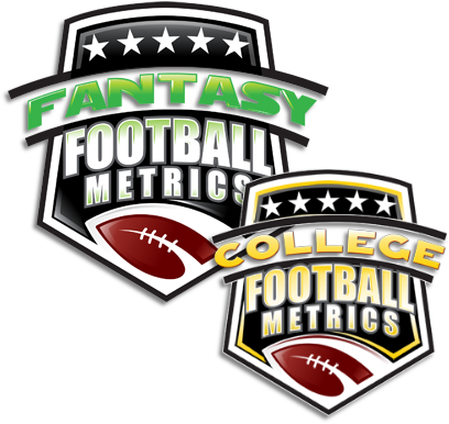 fantasy football metrics, college football metrics