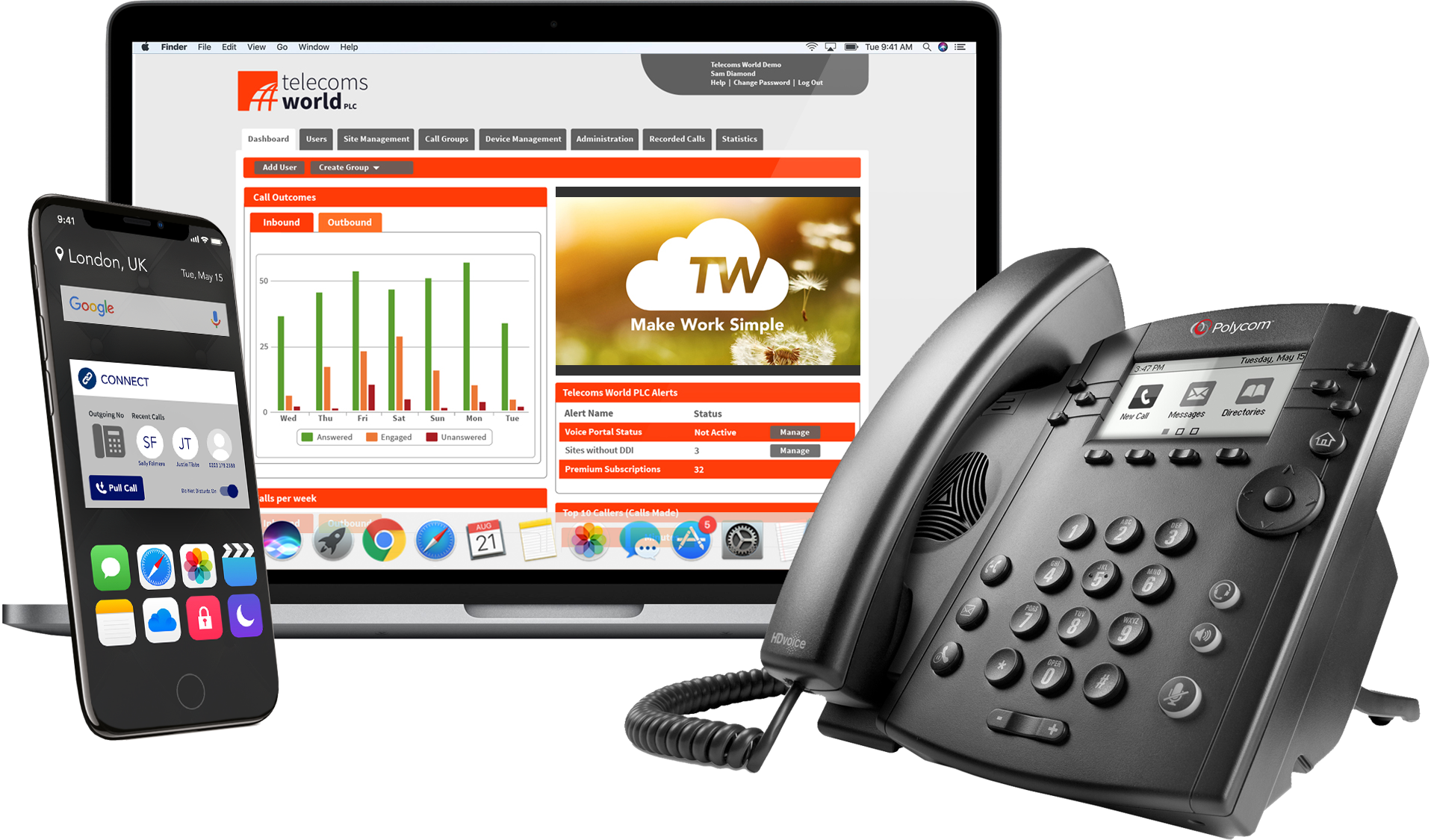 The UK's Leading VoIP phone system from £6.