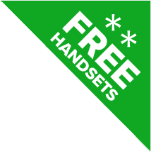 free handsets badge