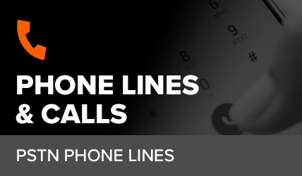 What are business phone lines?
