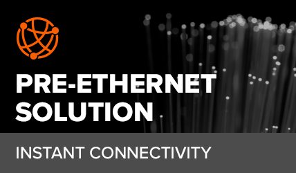 What is a pre-ethernet solution?