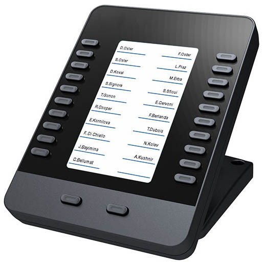 Add a extension module to your Wildix WelcomeConsole phone