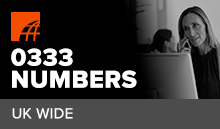 What is a 0333 Number?
