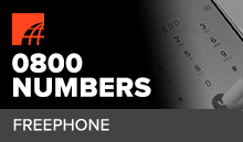 What are 0800 Numbers?