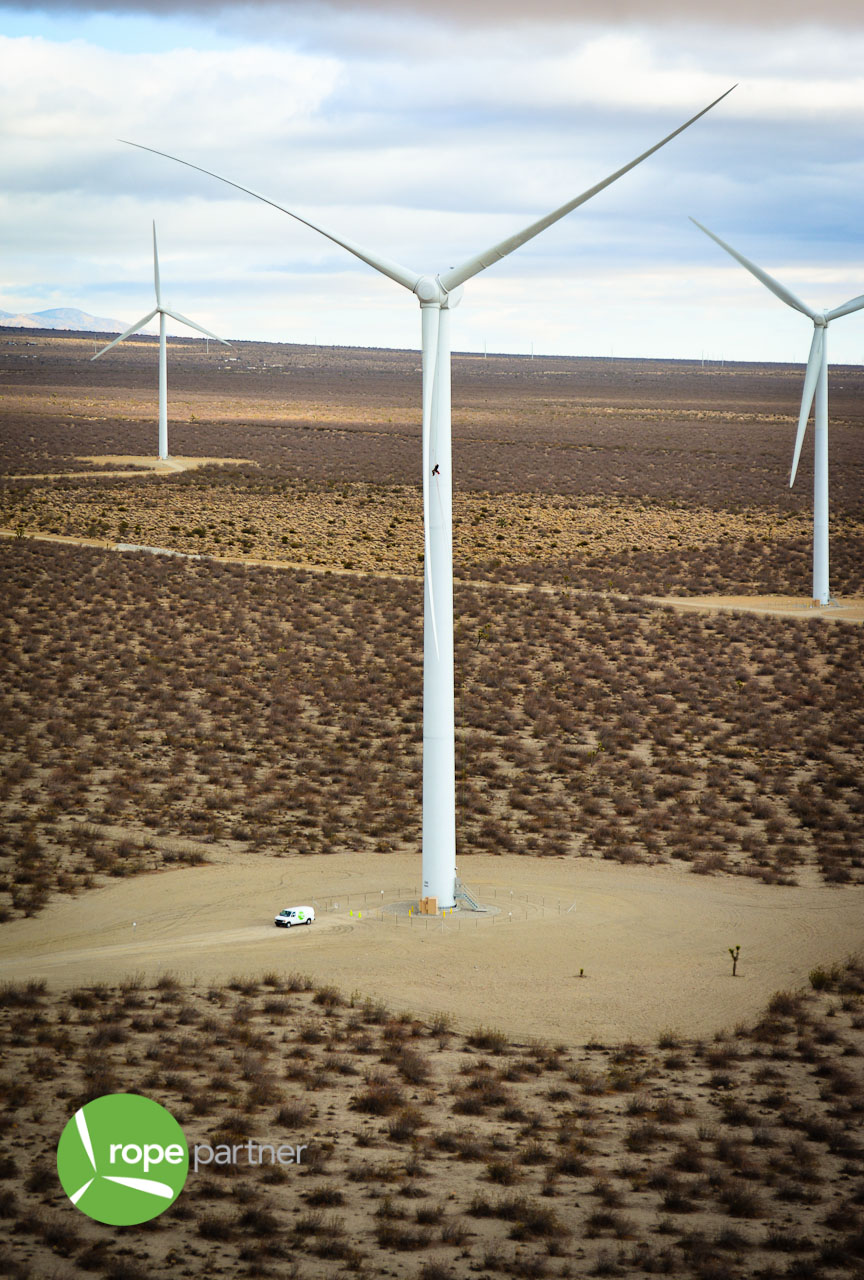 A Perspective of Size - Wind Turbine