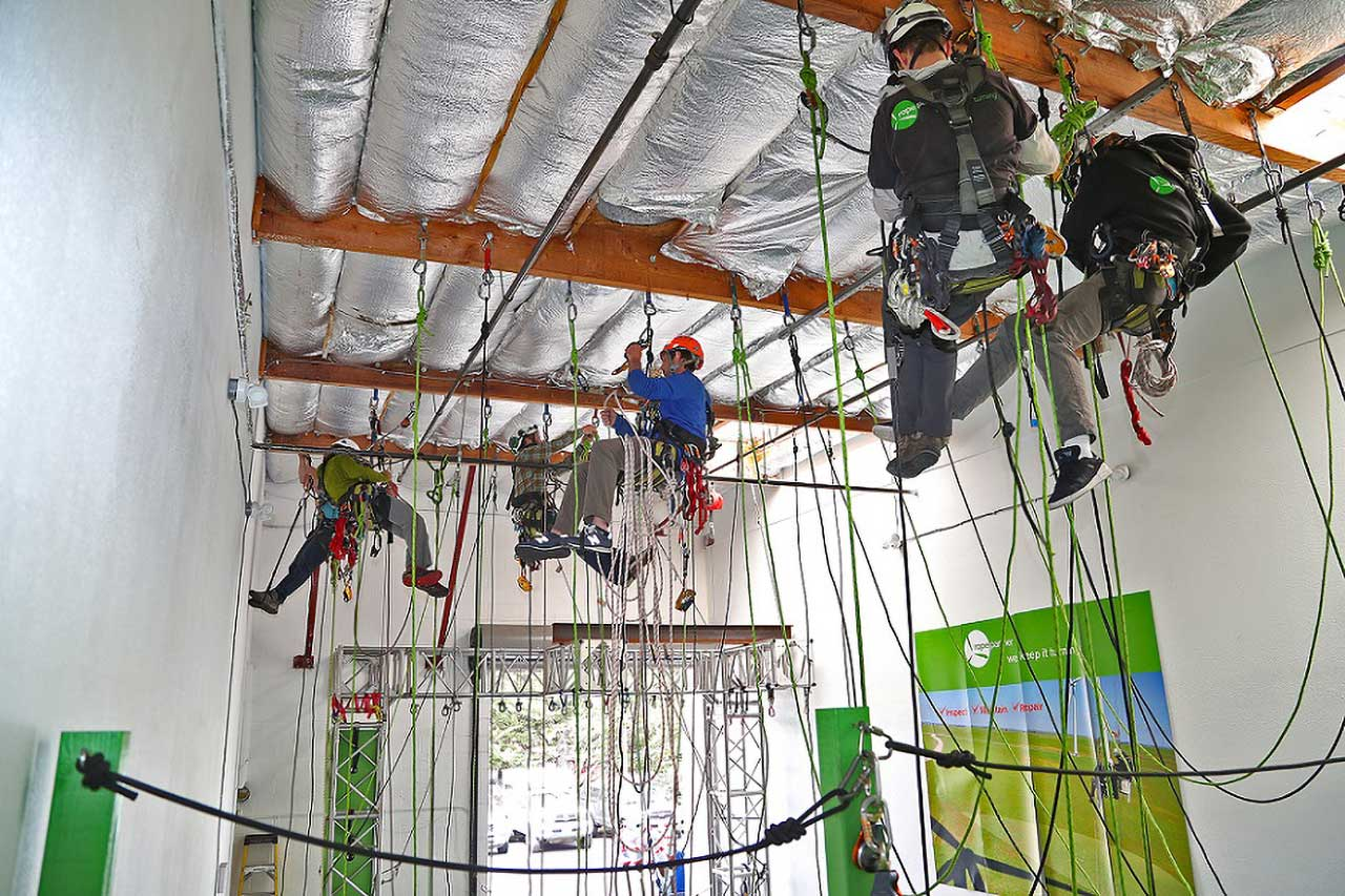 Rope Access Rescue Training