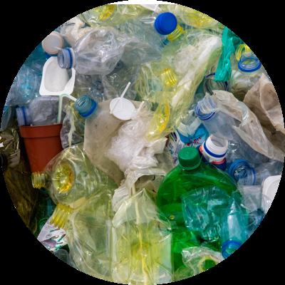 Photo de déchets plastiques