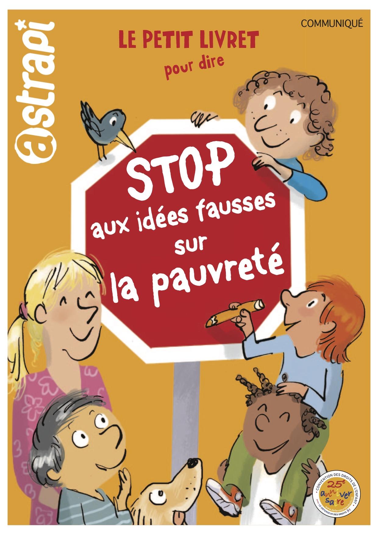 """Couverture livre """"stop aux idées fausses sur la pauvreté"""""""