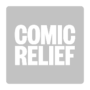 A logo for Comic Relief
