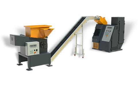 Line di riciclaggio professionali per cavi e radiatori
