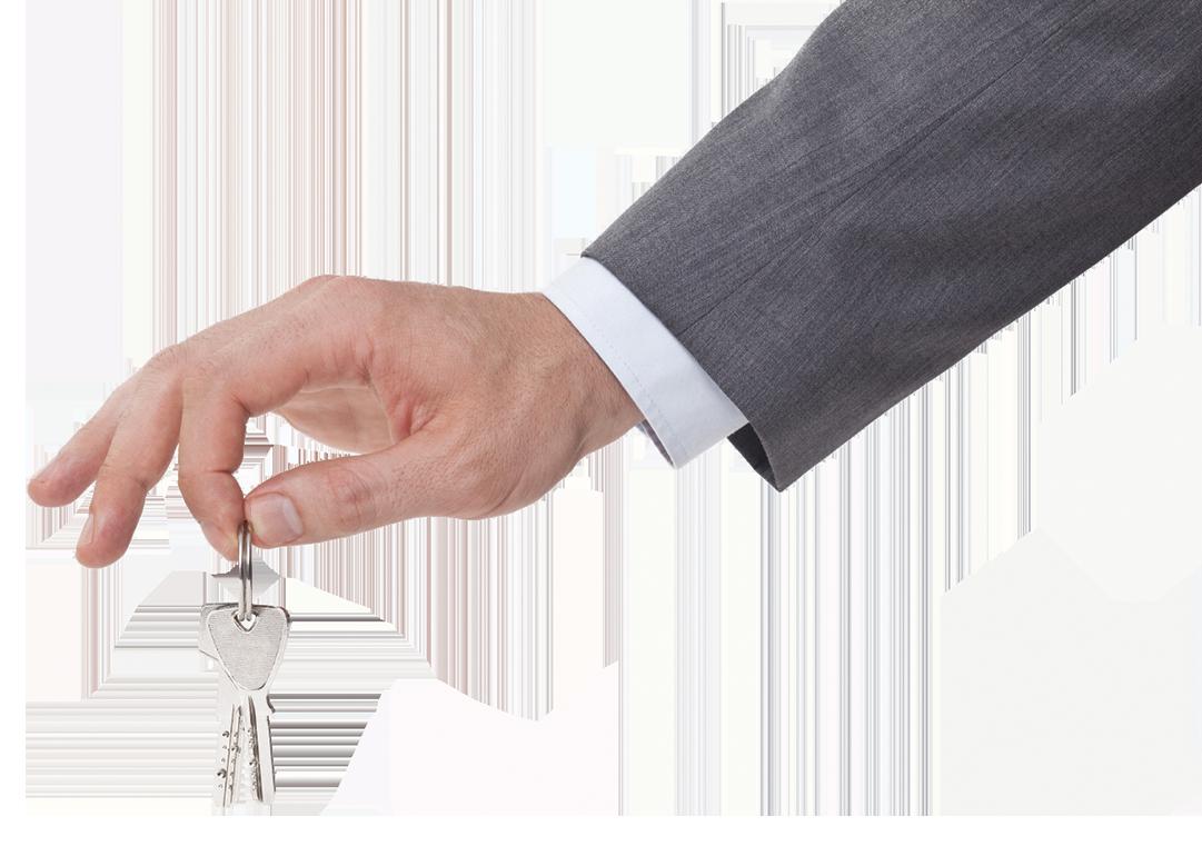 New rental home keys
