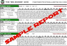 Sample draft guide report