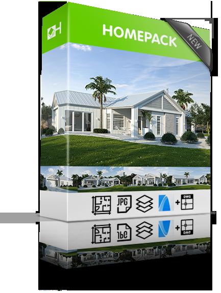 NZ House Plans Homepacks package