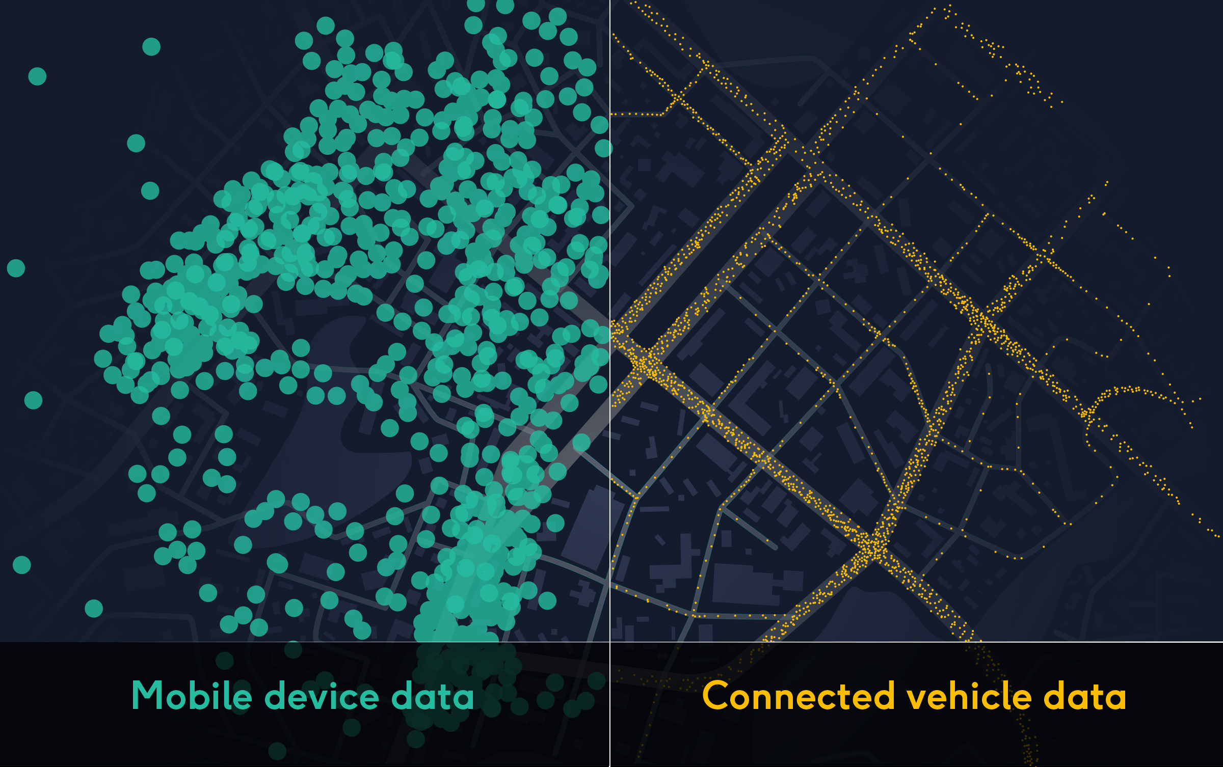 Connected car data graphic