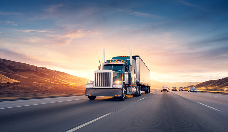 Freight & logistics connected vehicle data