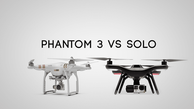 Phantom 3 vs 3DR Solo – Which Drone Is Better? | MyFirstDrone