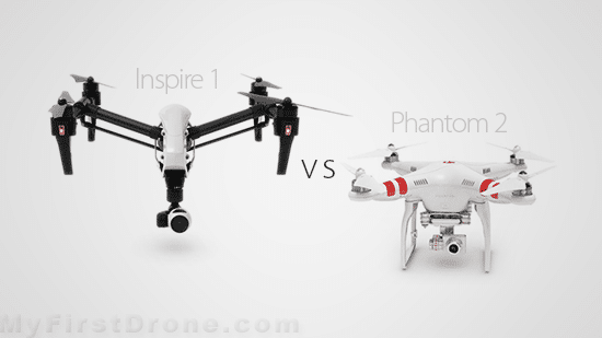 DJI Inspire 1 vs Phantom 2 Vision Plus: Which Drone To Buy