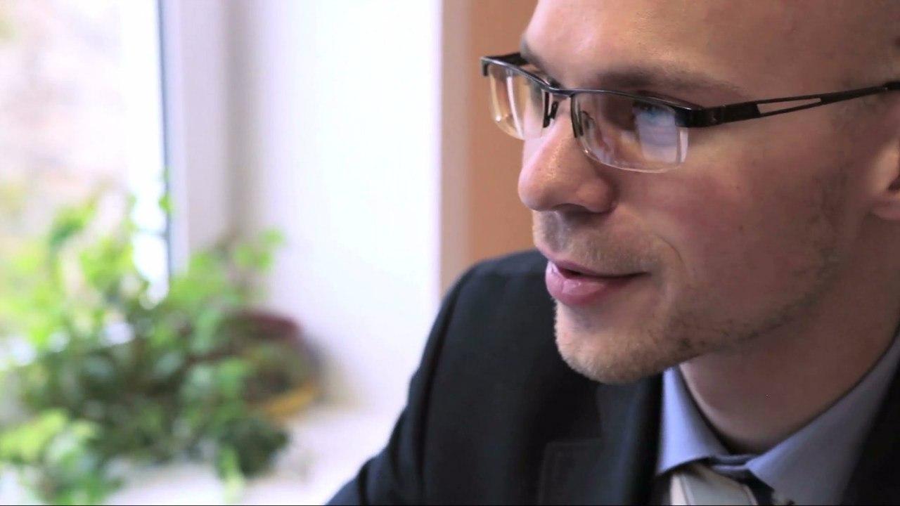 Преподаватель географии Кирилл Шенюк