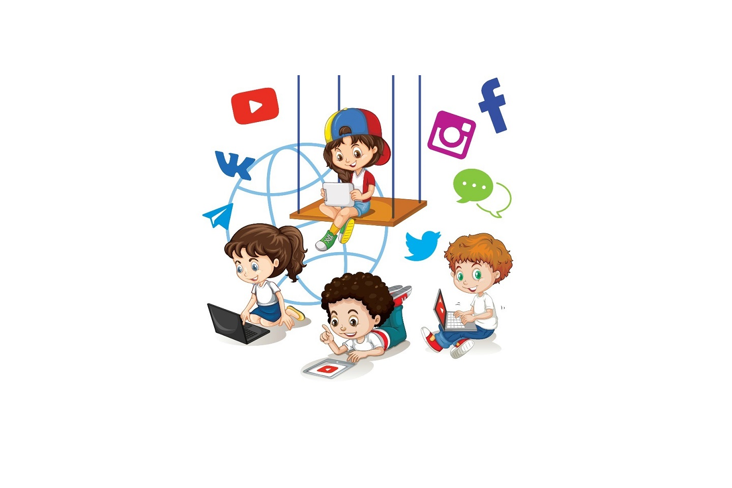 Безопасность детей в интернете - правила безопасности в сети интернет для  детей и подростков