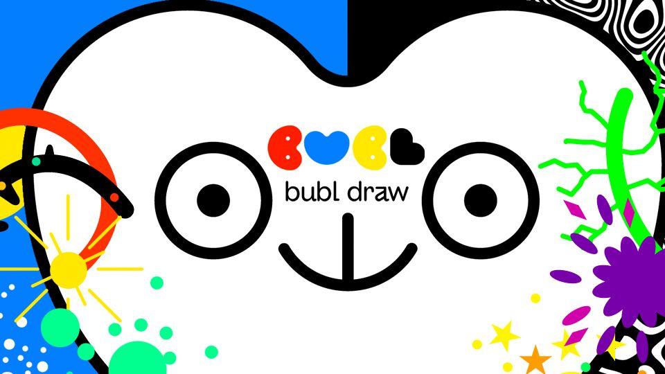Развивающее приложение Bubl Draw