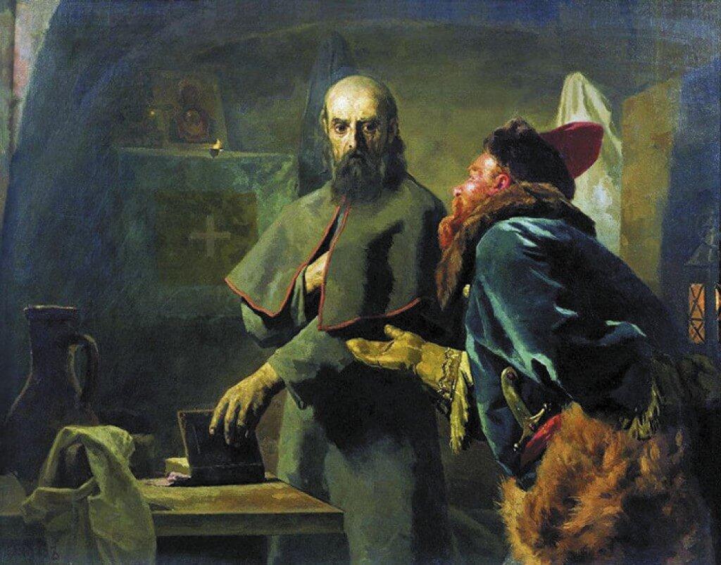 Последние минуты митрополита Филиппа (Митрополит Филипп и Малюта Скуратов)