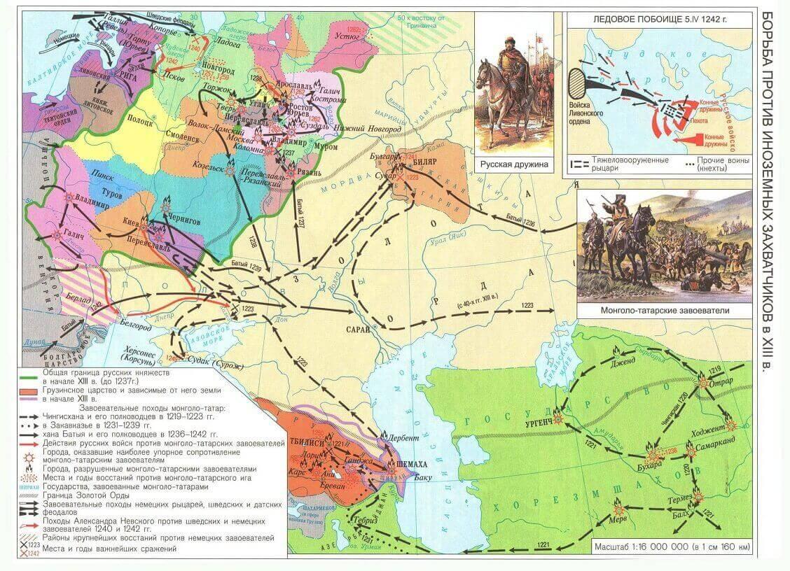 Карты для подготовки к аттестации по истории